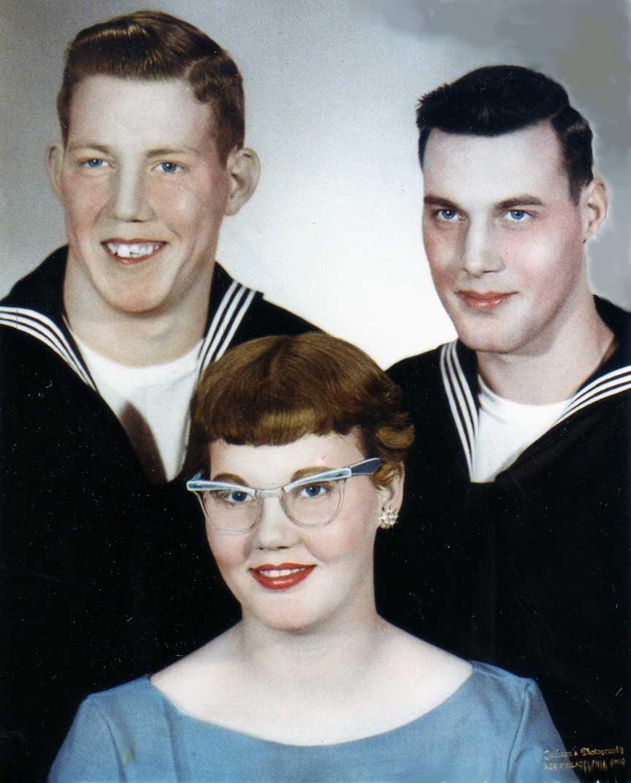 Don Hanlon, Kaye Walton, Dave Hanlon -- 1960