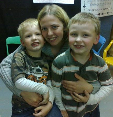 Noah, Niki, Rylee Walton (sons of Matthew) -- 2011