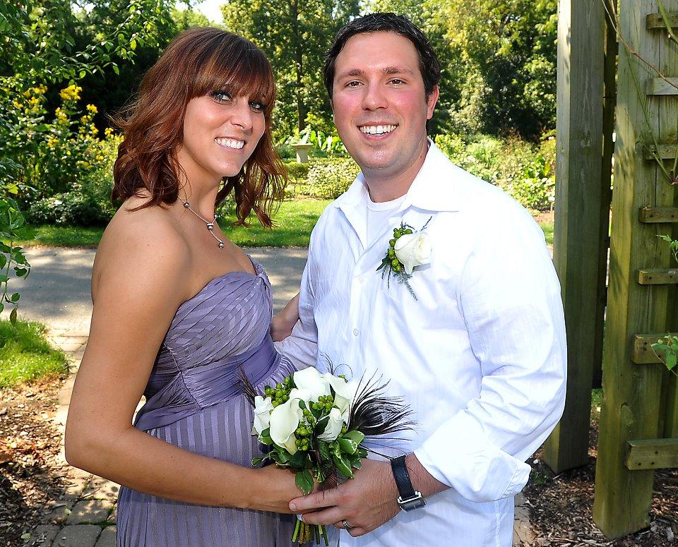 Amanda & Brandon Miller (Harold's stepson) -- 2011