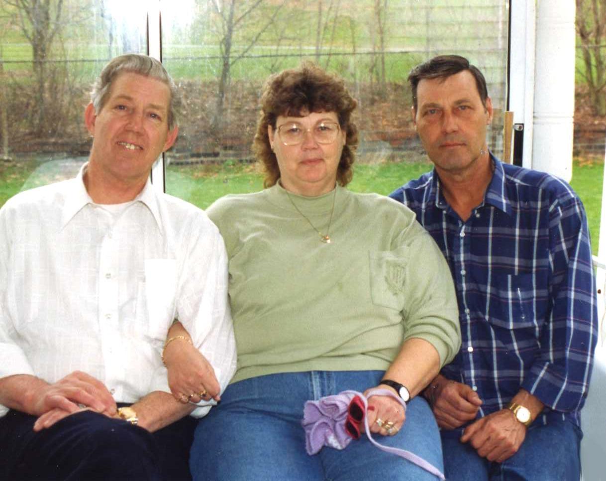 Don, Kay (Walton), Dave Hanlon -- 1994